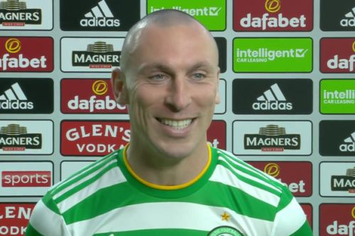 Scott Brown in hilarious f bomb gaffe live on Celtic tv
