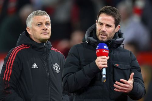 """Jamie Redknapp's scathing Ole Gunnar Solskjaer attack as Man Utd labelled """"a holiday camp"""""""