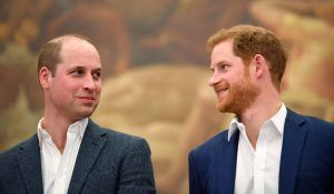Prince William and Prince Harry made history by getting surnames