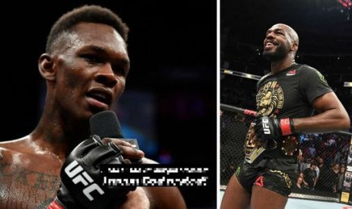Israel Adesanya takes aim at Jon Jones following drink driving and gun arrest