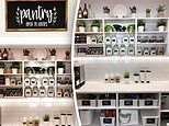 Mother-of-three shares her perfectly organised pantry and laundry online