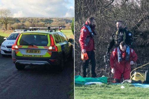 Body of woman found in river after car ended up in water at blackspot