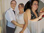 Woman who was photographed 'bursting' out of her size 22 dress at a Christmas party, sheds six stone