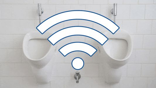 22,000 People Agree To Clean Toilets Because They Didn't Read WiFi Terms