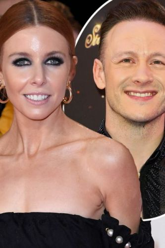 Stacey Dooley shows support for Kevin Clifton on the opening night of his new show amid rumours they're dating