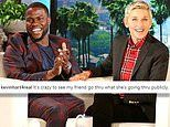 Kevin Hart joins celebrities sticking up for Ellen DeGeneres