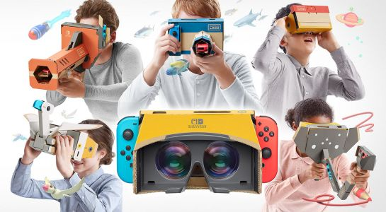 Nintendo Labo VR hands-on preview - virtual cardboard reality