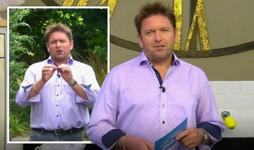 James Martin walks off after marriage proposal live on air 'marry me right now!'