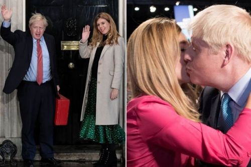 Boris Johnson could propose to girlfriend Carrie Symonds after massive Tory landslide