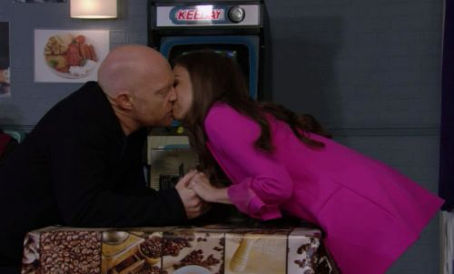 EastEnders fans spot blunder as Ruby's legs disappear mid-shot as she kisses Max
