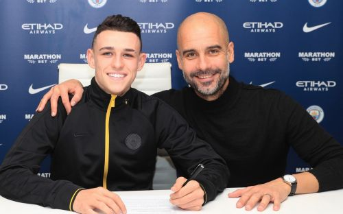 Phil Foden signs new long-term Manchester City contract