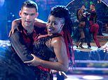 Strictly's Clara Amfo suffers awkward wardrobe malfunction as she rips her dress