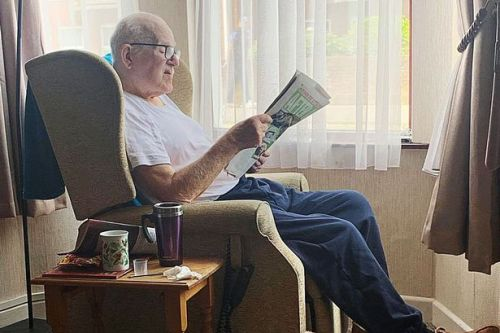 Our thanks to Mirror reader George who has 'bought paper everyday for 60 years'