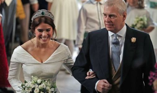 Princess Eugenie shares touching behind the scenes royal wedding picture for Father's Day