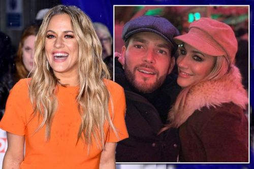 Caroline Flack's whirlwind romance with Lewis Burton amid arrest and assault charge