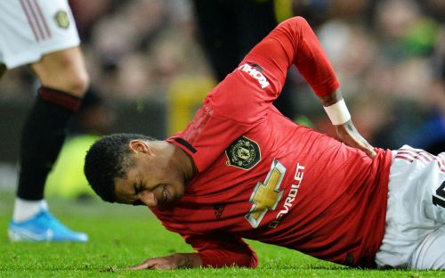 Marcus Rashford facing up to three months out with double stress fracture in back