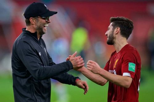 "Jurgen Klopp confirms ""legend"" Adam Lallana is unlikely to play again for Liverpool"