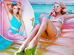 Charlotte McKinney commands attention as she poses for new fitness campaign