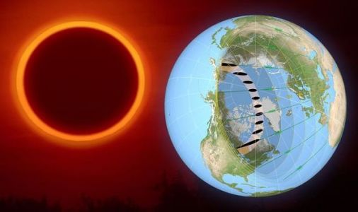 Eclipse 2021 MAPPED: What is the best place to see the Ring of Fire eclipse from?