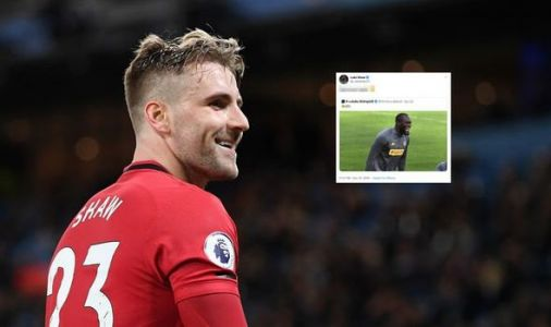 Man Utd ace Luke Shaw trolls Romelu Lukaku after Inter Milan crash out of Champions League