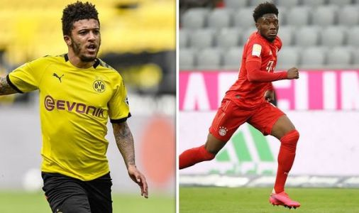 Jadon Sancho vs Alphonso Davies rated 'the battle of the season' as Dortmund host Bayern