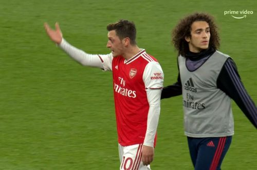 Mesut Ozil's rant was aimed at Freddie Ljungberg not Alexandre Lacazette, claims Owen Hargreaves