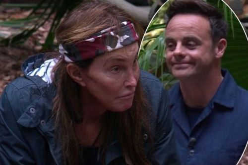 Ant McPartlin recreates Kylie Jenner's 'rise and shine' meme in front of her dad Caitlyn on I'm A Celeb
