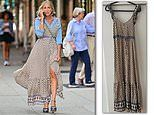 Sex and the City fans are shocked to see Sarah Jessica Parker wearing a FOREVER 21 maxi dress
