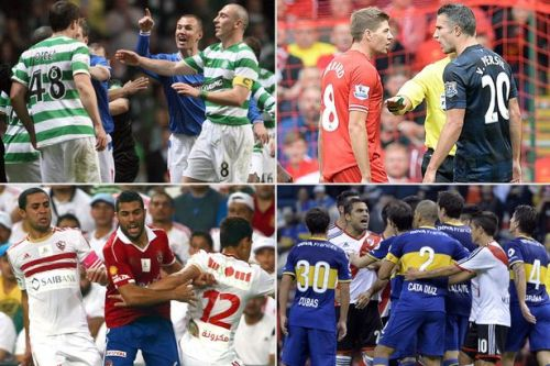 The top 20 rivalries in world football ranked - from Boca-River to Old Firm derby
