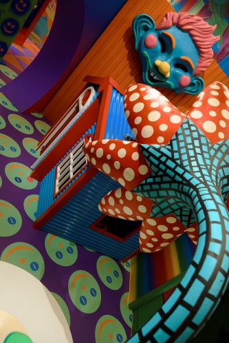 Inside Gary Card's Colourful New Exhibition, Hysterical