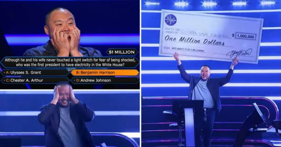 Chef David Chang becomes first celebrity to win $1million on Who Wants to Be a Millionaire US