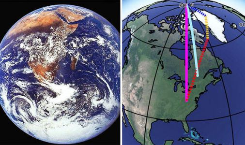 NASA warns Earth is WOBBLING more - and HUMANS are to blame