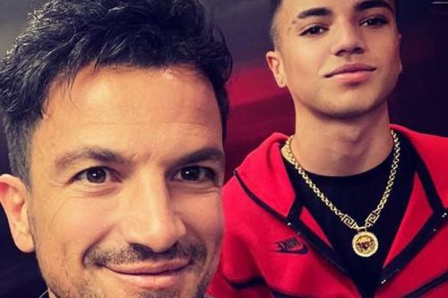 Peter Andre forced to miss son Junior's music launch as he battles mystery bug