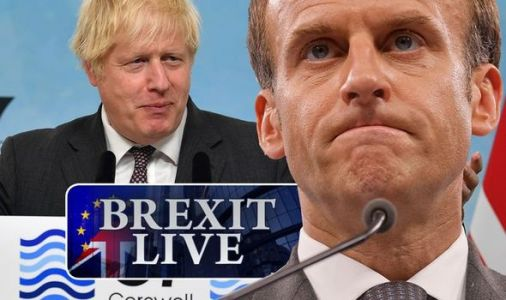 Brexit LIVE: Boris teases Macron at G7 with joke about poor French navy battle record