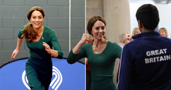 Kate Middleton squares up for a fight with Taekwondo expert