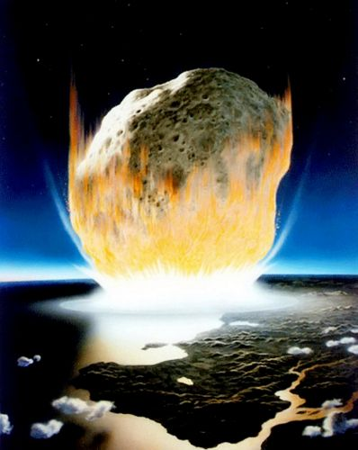 Horror of asteroid impact which doomed the dinosaurs revealed by scientists