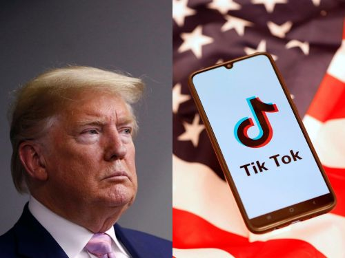 Trump's push to ban TikTok in the US, explained in 30 seconds