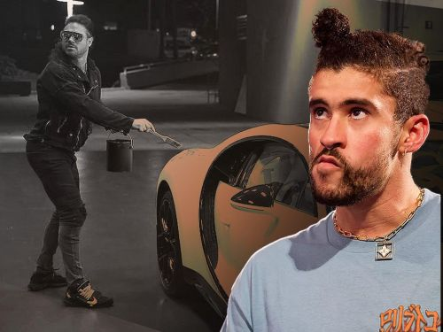 Bad Bunny's $3 million Bugatti vandalised on WWE Raw days before WrestleMania 37 match