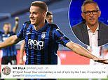 BT Sport and Gary Lineker blame thunderstorms after viewers complain commentary is ahead of footage