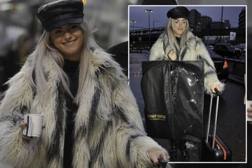 Corrie's Katie McGlynn drops red carpet gown in muddy puddle as celebs gear up for NTAs