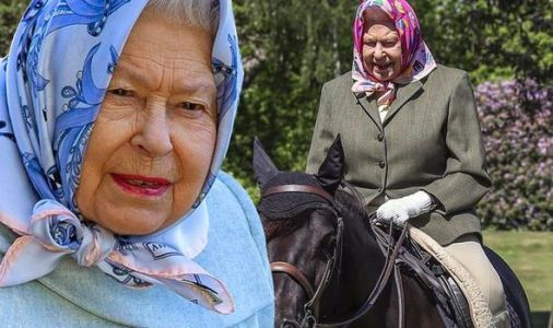 Queen photographed riding pony at Windsor Castle in first public appearance since lockdown