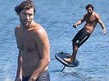 Brody Jenner shows off his impressive surfing skills in Malibu