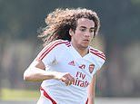 Matteo Guendouzi dumped from Arsenal squad against Newcastle 'after failing to impress in training'
