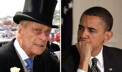 Barack Obama mocked by Prince Philip at private meeting: 'Just trying to stay awake!'