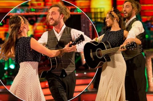 Seann Walsh and Katya Jones face being booted off Strictly Come Dancing as they land in the dance-off