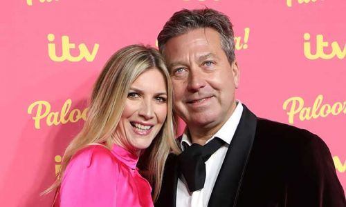 Lisa Faulkner and John Torode give fans an intimate glimpse into their lockdown date night