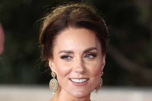 Kate Middleton swaps bouncy blow dry for dazzling rare updo at James Bond premiere