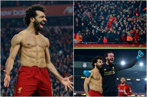 The best photos as Liverpool clinch massive win over Man United