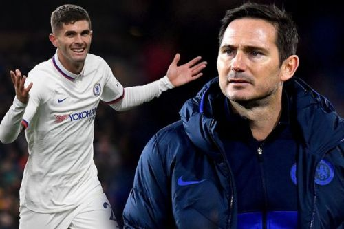 Chelsea boss Frank Lampard says he expects 'a lot more' from Christian Pulisic