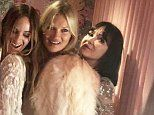 Final photo of Kate Moss' reality star BFF before her tragic death as pair attended lavish wedding